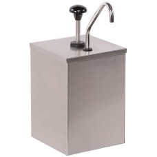 Stainless Steel Condiment Pump with 7 Qt. Inset #386010
