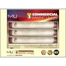 MIU® Commercial Baking Pan Liners, Half Sheet, 3 ct #1245016