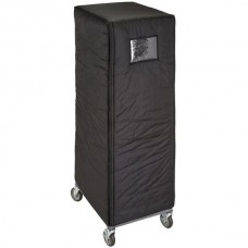 """Cambro® GoBag™ Insulated Black Nylon Bun Pan Rack Cover - 27 1/2"""" x 21 1/2"""" x 62"""" #GBIRC272162110"""