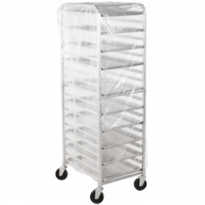 """Disposable .75 Mil Bun Pan Rack Covers by LK® Packaging USA, 22"""" x 31"""" x 72"""" - 100/Roll"""