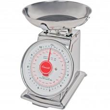 San Jamar® Escali® Mechanical Dial Portion Control Kitchen Scale w/ Removable Bowl, 11 lb.#SCDLB11