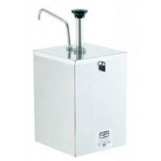 Server 67590 Pump Stainless Condiment Dispenser w/ 1 oz/Stroke #67590