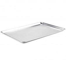 "Baker's Mark Full Size Aluminum Perforated Bun / Sheet Pan,19 Gauge, 18"" x 26"" #609932"