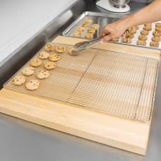 """Footed Wire Cooling Rack for Full Size Sheet Pan, 16"""" x 24""""  #4070038"""