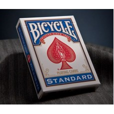Пластиковые карты игральные Bicycle Синяя рубашка.