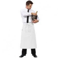 Chef Works Bistro Apron White F24