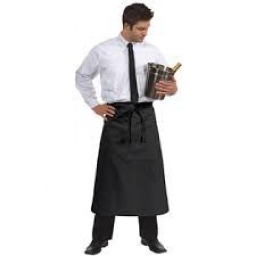Chef Works Bistro Apron Red F24