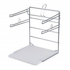 Choice® Chrome T-Shirt Bag Rack #176TSBSTND