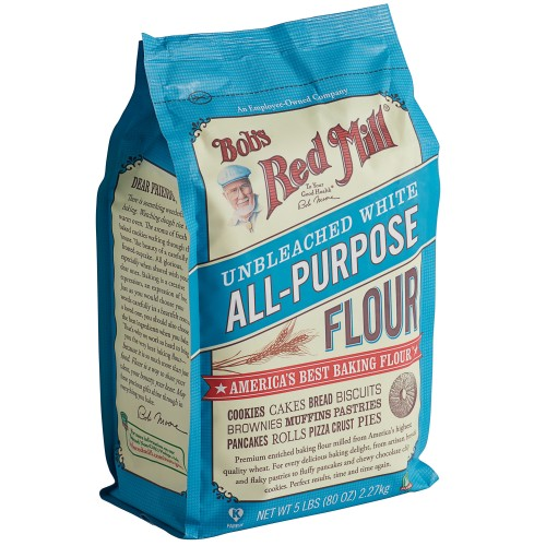 Bob's Red Mill® Unbleached All-Purpose Flour 2,27kg\5 lb #8533019