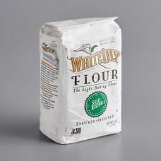 White Lily® Enriched Bleached Self-Rising Flour 2,27kg\5 lb. #0103886