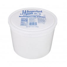J. Hungerford Smith Marshmallow Concentrate Topping, 1,56kg\3 lb. #256302