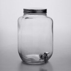 Acopa Mason Jar Glass Beverage Dispenser 2 Gallon  #553220025