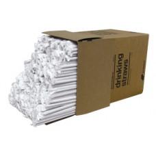 """Трубочки толстые и длинные, индивидуально завернуты в бумагу Darnel® USA 10,25""""(26см) 500pcs"""