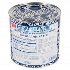 Fabbri® Amarena Cherries in Syrup, 3,2 kg\7 lb. #100803