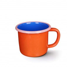 Bornn Colorama Large Mug Coral and Electric Blue with Soft Pink Rim, 300ml #CRMG0902