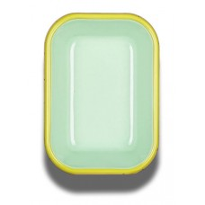 Bornn Colorama Small Baking Dish Mint with Chartreuse Rim, 16x11x4cm #CRRP1606