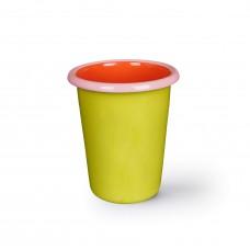 Bornn Colorama Tumbler Chartreuse\Coral w\Soft Pink Rim, 250ml #CRTM1002