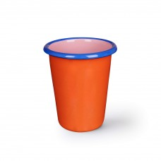 Bornn Colorama Tumbler Coral and Soft Pink with Electric Blue Rim, 250ml #CRTM1003