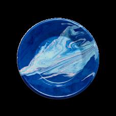 Bornn New Marble Plate 21cm Cobalt #MAPL2107