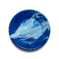 Bornn New Marble Plate 25cm Cobalt #MAPL2507