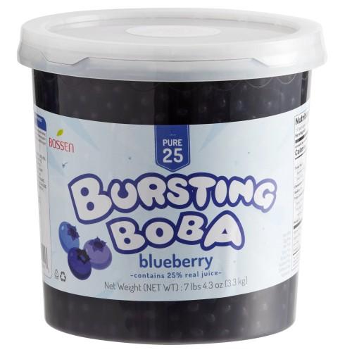 Bossen® Pure25 Blueberry Bursting Boba® 7.26 lb. #020410