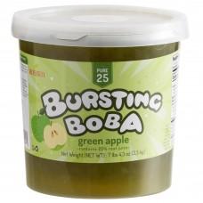 Bossen Pure25 Green Apple Bursting Boba 7.26 lb. #020588
