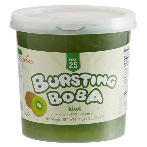 Bossen® Pure25 Kiwi Bursting Boba® 7.26 lb. #020397