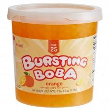 Bossen® Pure25 Orange Bursting Boba® 7.26 lb. #020892