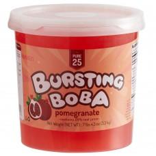 Bossen Pure25 Pomegranate Bursting Boba 7.26 lb. #020564