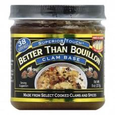 Better Than Bouillon™ USA Clam Base 227гр\8oz #098308002079