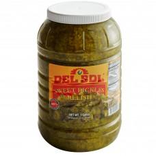 Del Sol Sweet Pickle Relish 1 Gal. #4004970