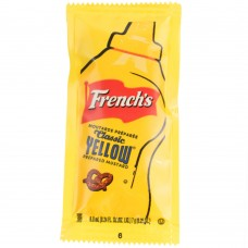 French's® Classic Yellow Mustard - (200) 7 Gram Portion Packets / Case #125PC556981