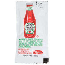 Heinz Ketchup Portion Packets / (1000) 9 Gram Case #125PC148