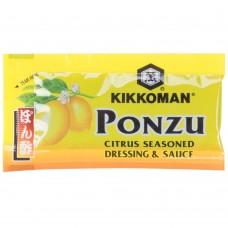 Kikkoman® USA Ponzu Citrus Seasoned Dressing & Sauce 6 mL Packet - 500/Case