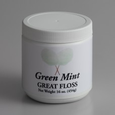 Great Western Floss Mint Green Cotton Candy Concentrate Sugar 1Lbs, #99916139