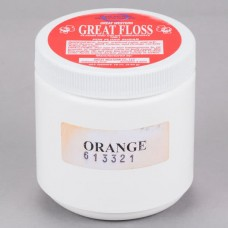 Great Western Floss Orange Cotton Candy Concentrate Sugar 1Lbs, #99916141