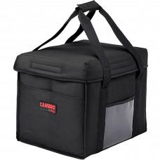 "Cambro Customizable Insulated Black Sandwich GoBag™ - 15"" x 12"" x 12"" #GBD151212110"