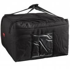"""Cambro Customizable Insulated Black Pizza Delivery GoBag™  19,5""""x19,5""""x12,5"""" #GBP518110"""