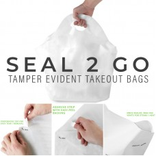 """Seal2Go® Tamper-Evident Delivery Bag, 21"""" x 19"""" x 10"""" - 250/Case"""