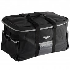 """Vollrath 3-Series Black Large Insulated Catering Bag w\Removable Liner and 3 Pan Separators 23""""x15""""x14""""#VCBL300"""