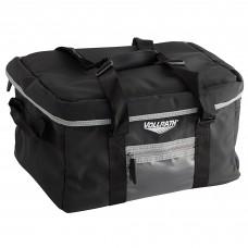 Vollrath VDBM300 3-Series Black Insulated Catering Bag with Vinyl Liner #VDBM300