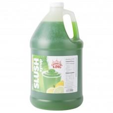 Carnival King Lemon Lime Slushy Syrup, 1 Gallon