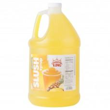 Carnival King Pineapple Slushy Syrup, 1 Gallon
