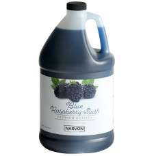 Narvon Blue Raspberry Slushy Syrup, 1 Gallon