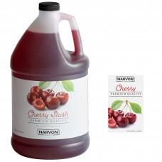 Narvon Cherry Slushy Syrup, 1 Gallon