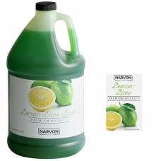 Narvon Lemon Lime Slushy Syrup, 1 Gallon