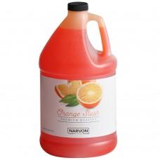 Narvon Orange Slushy Syrup, 1 Gallon