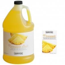 Narvon Pineapple Slushy Syrup, 1 Gallon