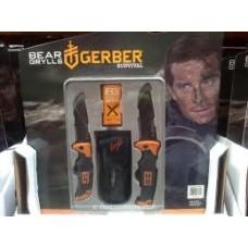 Набор из двух складных ножей Gerber Bear Grylls.