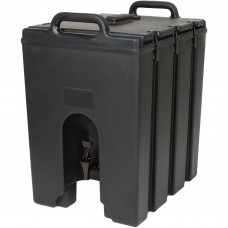Cambro Camtainer® Black Insulated Beverage Dispenser, 44 Lit\11.75gal #1000LCD110